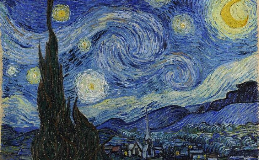 Έναστρη Νύχτα. | The_Canvas_Project